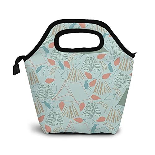 Bolsa Térmica Comida Bolsas De Almuerzo para Mujeres Hombres Niñas Niños Bolsa Isotérmica De Almuerzo Tiendas de campaña