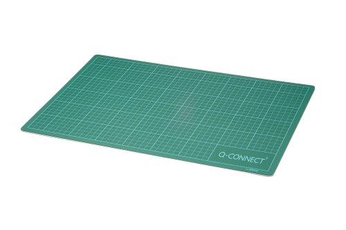 Q-Connect - Plancha de corte, A2, color verde