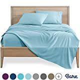 Bare Home Queen Sheet Set - 1800 Ultra-Soft Microfiber Bed Sheets - Double Brushed Breathable Bedding -...