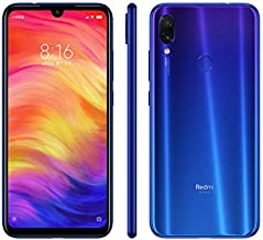 Xiaomi Redmi Note 7, 64GB/4GB RAM, 6.30'' FHD+, Snapdragon 660, Blue - Unlocked Global Version, No Warranty
