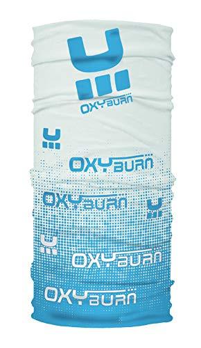 Oxyburn für Kinder, oxybuff Multifunktionstuch M White/Malibu