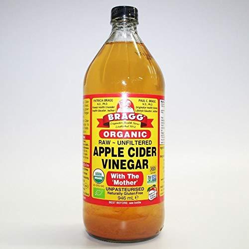 BRAGG   Apple Cider Vinegar w/Mother   5 x 946ml (ES)