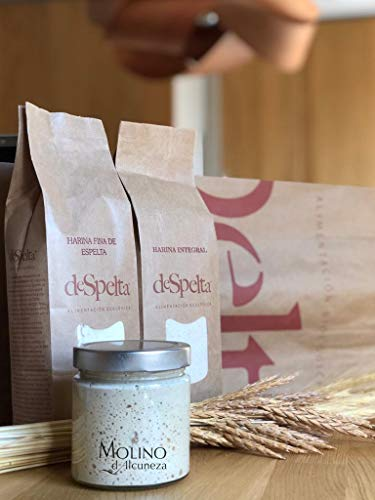 1 cesta ovalada para prueba de pan Banneton, cesta de bambú de ratán, cesta de prueba de masa madre Brotform para pan y masa levantada, kit de tarro de inicio para hacer pan (15 x 8 x 5 cm + paño)