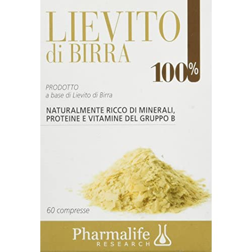 Pharmalife Lievito di Birra 100%, 60 Compresse