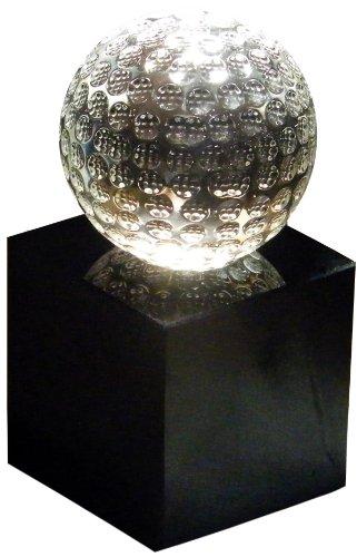 LONGRIDGE Kristall Golfball-Trophäe