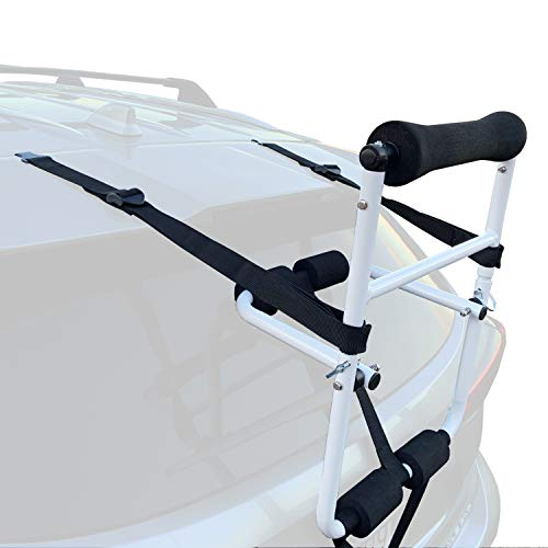 Best Marine Kayak Roof Rack Roller. Vehicle Load Assist for Kayaks, Canoes, SUP Paddle Boards and Surfboards. Ideal for Loading Boats onto Crossbars, Roof Racks or Roof Pads. 90lb Weight Capacity