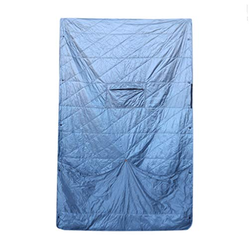Fewear Double Sleeping Bag for Backpacking, Camping, Or Hiking,Queen Size XL, Cold Weather Waterproof Sleeping Bag for Adults Or Teens, Truck, Tent, Or Sleeping Pad, Lightweight (A)