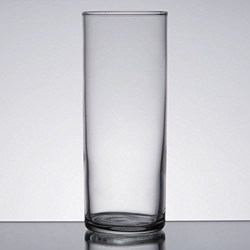 Set of 6 Collins/Zombie Glass 12 oz, Libbey 96 w/Signature Party Picks