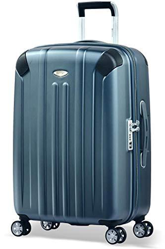 Eminent Koffer Boulder M 66cm 71L super leicht extra Eckenschutz Anti-Kratz-Hartschale 4 Doppelrollen 360° Hartschalenkoffer Grafit
