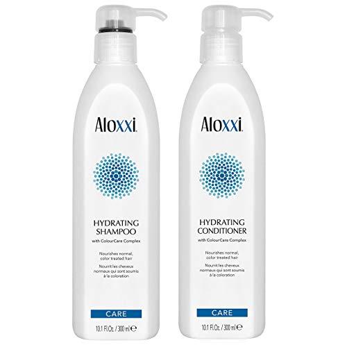 ALOXXI Hydrating Shampoo + Conditioner Set, 10.1 oz