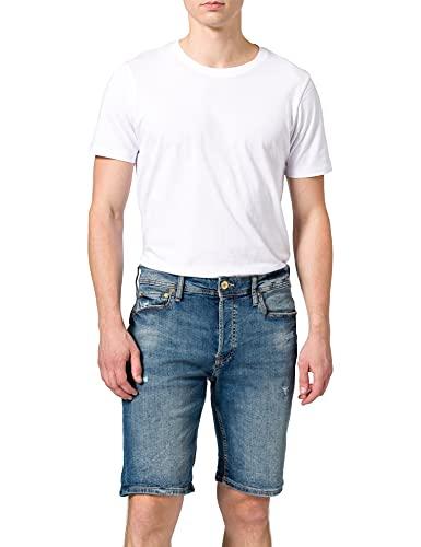 Jack & Jones JJIRICK Jjoriginal NA 101 Pantalones Cortos, Azul Denim, XL para Hombre