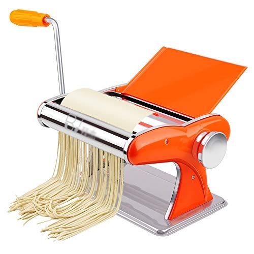 MAOX Nudelmaschinen, Nudel-Pressmaschine, Hand Edelstahl Nudelmaschinen, Klein Dumpling Maschine Convenience