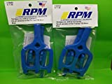 2 Pack RPM 80465 Front Rear Blue Suspension...