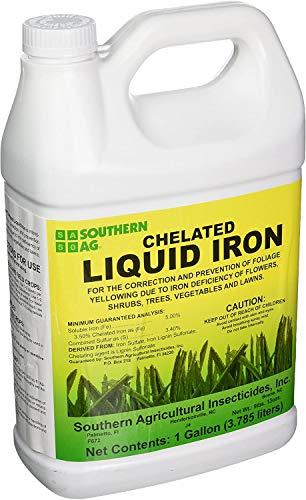 Southern Ag Chelated Liquid Iron, 128oz -1 Gallon