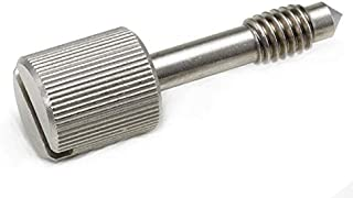 1//4-20X5//8 Style 1 Slotted Drive Knurled Head Stainless Steel Ships FREE in USA 100pcs Cone Point Captive Panel Screws