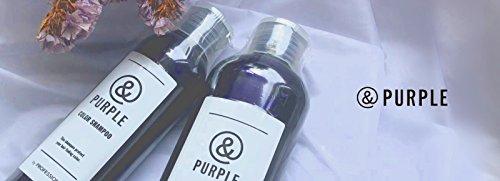 &PURPLEアンドパープルムラサキシャンプーオーガニック・ハーブエキス配合カラーシャンプー240mlムラシャンプライズ紫シャンプー
