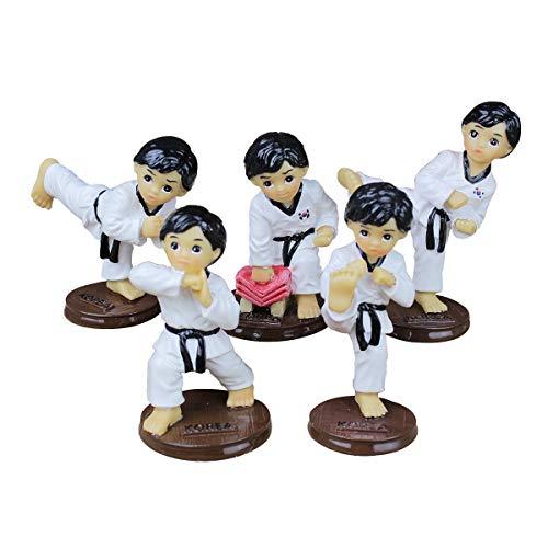 WZ YDTH handgemaakte decoratieve ornamenten pak souvenir taekwondo pop creatieve ornamenten handwerk sportprijzen verjaardagscadeau taoist geschenken