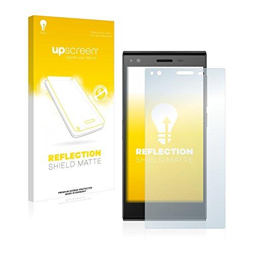 upscreen Entspiegelungs-Schutzfolie kompatibel mit ZTE Blade Vec 4G – Anti-Reflex Bildschirmschutz-Folie Matt
