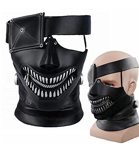 Cafele Tokyo Ghoul mask Kaneki Ken Mask Japan Anime Cosplay Cosplay Prop (PVC Version)