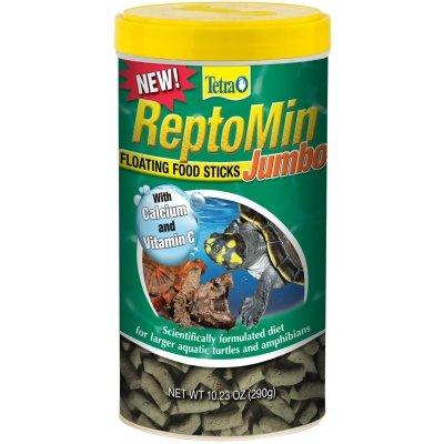Tetra TM16604 Tetra Reptomin Jumbo Floating Food Sticks 10.23 Oz.