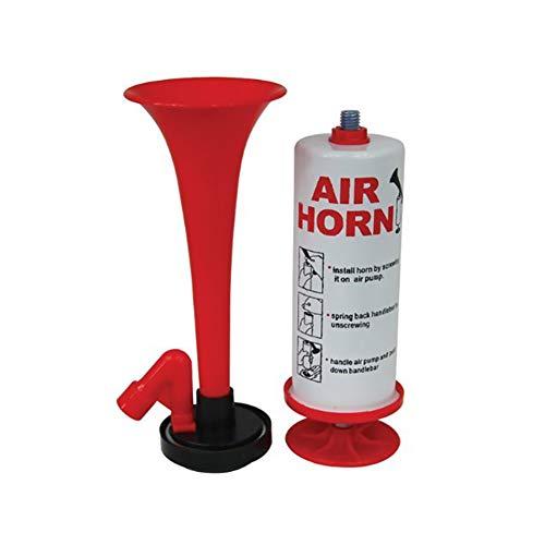 Hand Laut Air Horn Pump Klingel Super Laute Alarmglocke Ring Ultra Laut Retro Air Horn-Alarmglocke Tragbare Trompete Air Horn Fire Alarm Air Horn 1 Set
