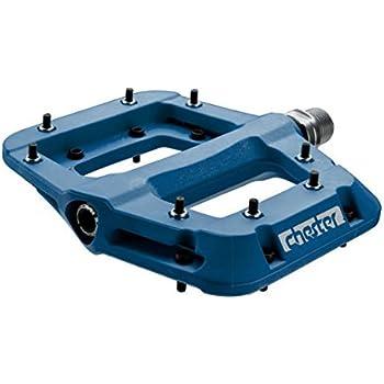 """Race Face Chester Composite Platform Pedals Blue 9//16/"""" Pair Flat Pedal MTB"""