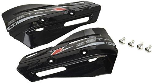 ジータ(ZETA) ナックルガード XCプロテクター ブラック アーマーハンドガード専用 バイク オートバイ ZE72-3106