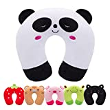 H HOMEWINS Kids Travel Pillow Children Neck Pillow Chin & Neck Support Cushion