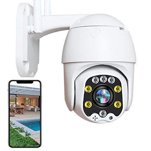 AINSS PTZ Cámara Exterior 3G 4G Sim Tarjeta 1080P HD IP Cámara de Vigilancia Exterior,IP66 Impermeable,30M HD Visión Nocturna,Alerta Email,Detección de Movimiento,Control App,P2P,Onvif 【Cámara】