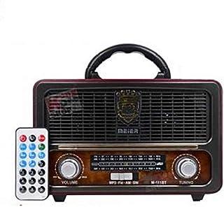 Meier M-111BT Portable Antique Radio