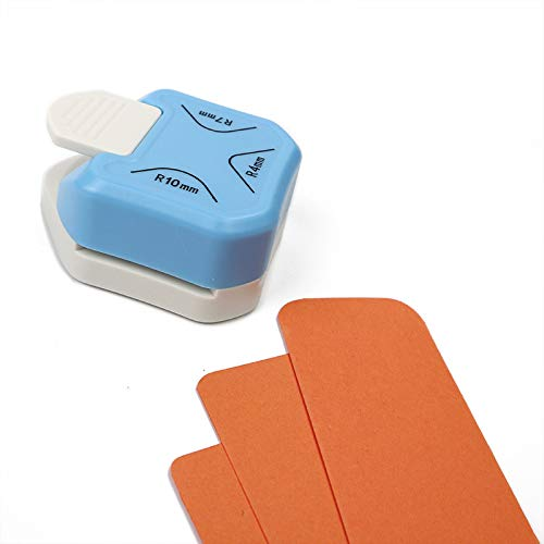 Punch de Orificio de la Esquina 3 en 1 Punch, Cortador de Fotos, Adecuado para Cuadros de Papel Cardstock Cardstock