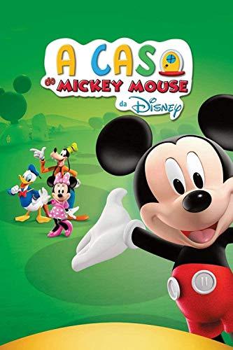 Abcoll - Puzzle de Madera de 1000 Piezas, Cartel de Programa de televisión de la casa Club de Mickey Mouse, Juego de Ocio y Entretenimiento para niños Tamaño: 75 x 50 cm
