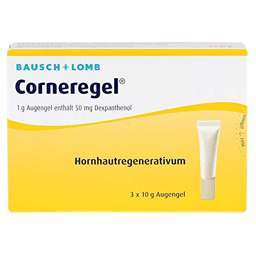 Corneregel Augengel, 3X10 g
