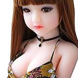 ZXVSD TPE Silicone Doll for Men, una muñeca de Masaje Masculino simulada Hecha de Silicona Pura, una muñeca TPE con Funciones de Sonido y calefacción.