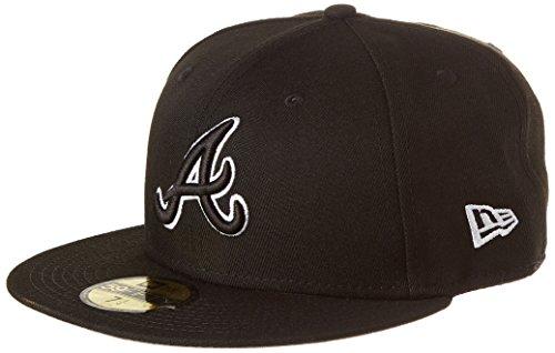 New Era Herren League Basic FIT2 ATLBRA BLK Cap, Black, 7 14-57,7cm (M)