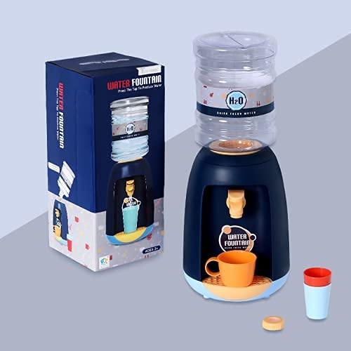 Arkmiido Mini Dispensador de Agua para Niños Fuente de Agua de Simulación para Uso en Interiores y Exteriores Fácil Instalación y Limpieza No Requiere Batería