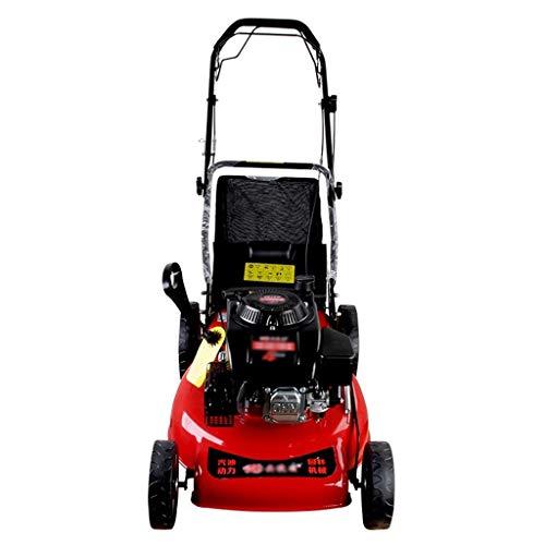 QILIN 20 Inch Self-propelled Gasoline Lawn Mower Garden Machinery Lawn Mower Four Stroke Hand Push Type Lawn Mower