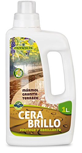CERA BRILLO SUELOS MARMOL - TERRAZO - GRANITO 1L MONESTIR