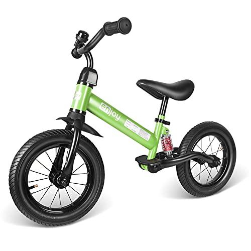Bici sin pedales verde