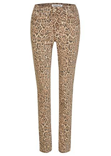 Angels Damen Hose 'Cici' mit Leoparden-Muster