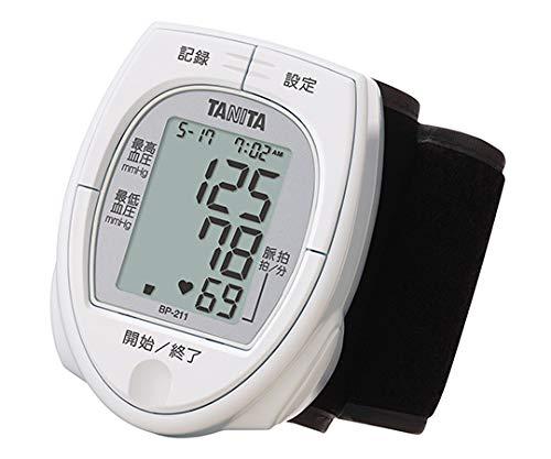タニタ 手首式血圧計 ホワイト BP-211