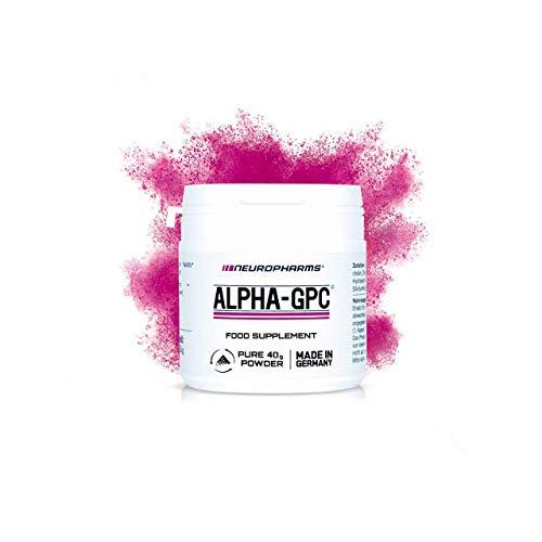Alpha GPC | NEU! Nootropikum | 40g Pulver 100% (L-Alpha Glycerylphosphorylcholin) | vegan