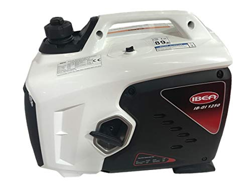 "Ibea - Grupo electrógeno GI 1250 - Potencia máxima 1.100 W - Con tecnología ""Inverter"""