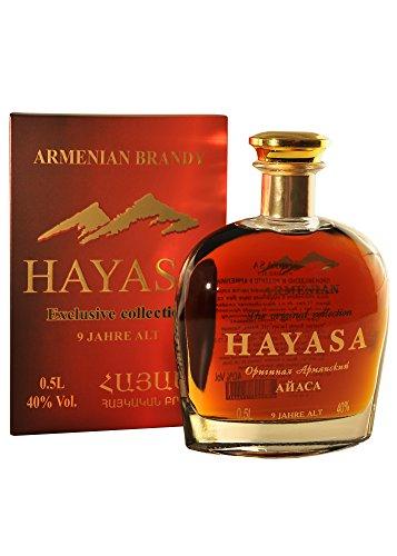 Armenischer Weinbrand Hayasa, 0,5L, 9 Jahre gereift