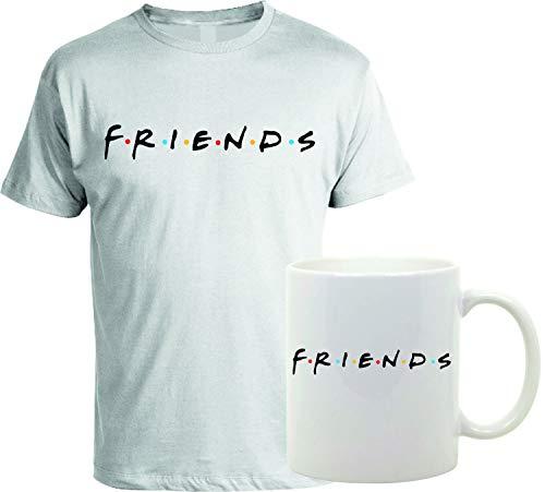 bubbleshirt Coppia T-Shirt e Tazza Mug in Ceramica Friends - Serie TV - Idea Regalo