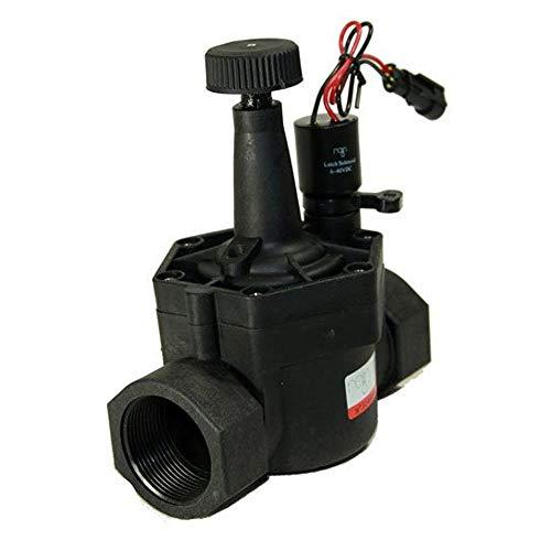 "Electroválvula Rain RN 160 Plus 9V 1 1/2"" con regulador de caudal"