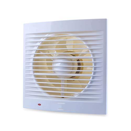 LXZDZ Ventilador de ventana resistente al agua de baño Silencio Extractor de escape for aficionados de cocina Aseo de ventilación