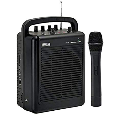 Ahuja Portable PA system WP-220M with Bluetooth