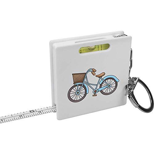 Azeeda 'Niederländisches Fahrrad' Schlüsselring-Maßband / Wasserwaage (KM00012965)