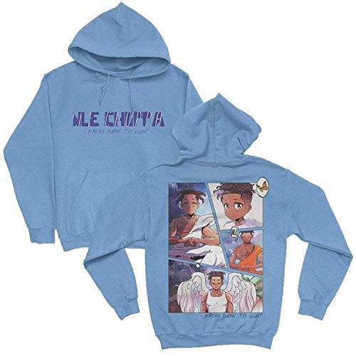 Nle Choppa m erch nle Choppa fdtl Character Shirt Hoodie Youth Shirt Kid sh dmn19 Crewneck Sweatsh dmn t-Shirt, Hoodie Black